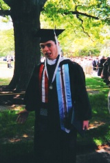J. Nathan Matias, Graduation from Elizabethtown College, May 2005