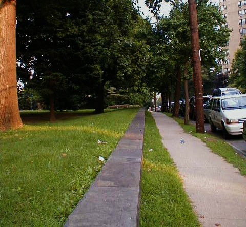 Sidewalks near Philadelphia University